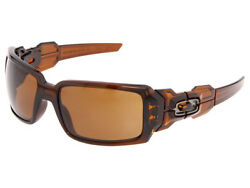 Oakley Oil Drum Sunglasses 30 717 Polished Rootbeer Dark Bronze $99.99
