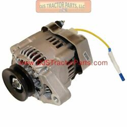 1 Wire Mini Alternator With Pulley 35 Amp