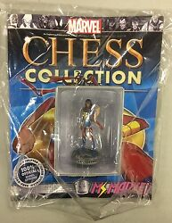 MARVEL chess figure MS. MARVEL WHITE PAWN eagle moss new