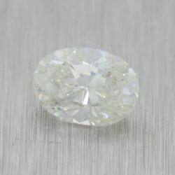 1.10ct Gia Certified Oval Modified Brilliant J I1 Natural Modern Loose Diamond