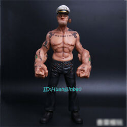Popeye 1/6 Scale Painted Resin Figurine Headplay 12and039and039 Model Sculpture Collection