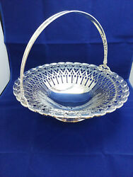 And Co. English King Pattern Sterling Silver Bridal Basket