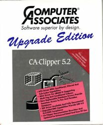 CA-Clipper 5.2 for DOS (3.5 or later) and (+)  CA-Clipper 5.2d Upgrade COMPLETE