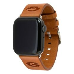 Georgia Bulldogs Premium Leather Band Compatible With The Apple Watch