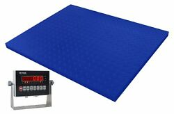 Intelligent Weighing Titanf 10k Industrial Floor Scale| Ntep Class 3 Approved