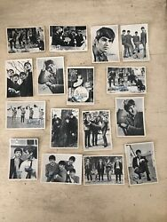 16 Vintage Beatles Signature Cards Series 1 By Topps Trading Cards 1964
