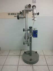 Carl Zeiss Contraves Surgical Microscope Stand And Light Source Miami