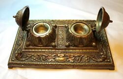 Inkwell -ink Pot From Estate, Rare. For The Ceo, Or Judge, Or A Lawer.