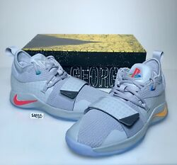Nike Pg 2.5 Playstation Paul George Ps5 Classic Wolf Grey Mens And Kids Gs Gray 5
