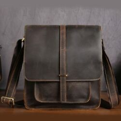 GENUINE Leather Bag Men Bags Shoulder Crossbody Bags Messenger Small
