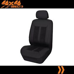 Single Panelled Leather Look Seat Cover For Volvo 960