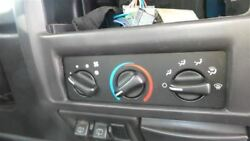 Heater Climate Temperature Control LHD Without AC Fits 99-05 WRANGLER 355859