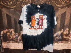 Hershey's PA Chocolate World Vintage Tie Dye T Shirt Nice Sparkly Graphic Size L $45.00