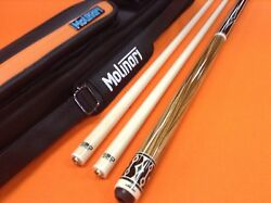 Longoni Carom Cue Infinity N.y. With S30 Shafts And Molinari Case.