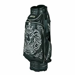 Winwin Style (Winwinstyle) Caddy Premium King Of Golf (Lion Design) Cart Bag 9.0