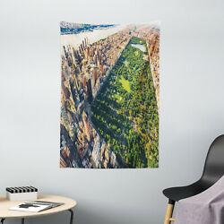 United States Tapestry Central Park View Print Wall Hanging Decor