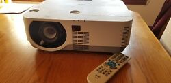 Nec NP-P502WG Only one on eBay! 5,000 LUMENS HD 95% left 3D ready $2,899 MSRP