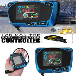 1224V Parking Heater Controller LCD Monitor Switch For Car Diesels Air Heater