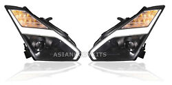Headlights assembly for Nissan R35 GT-R GTR 2007-2014 LHD (2007-2014)