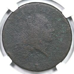 1793 S-4 R-3 Ngc Ag Details Periods Chain Large Cent Coin 1c
