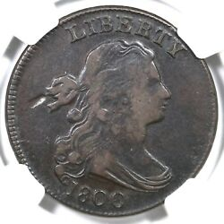 1800 S-200 R-3 Ngc Vf 25 Draped Bust Large Cent Coin 1c