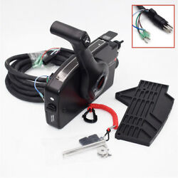 8 Pin 15ft Cable Remote Control Box Well Right Side Mercury Boat Motor Outboard
