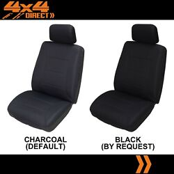 Single Premium Knitted Polyester Seat Cover For Toyota Land Cruiser Bundera