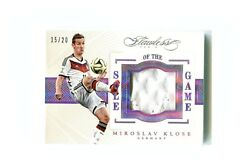 Miroslav Klose 2015-16 Flawless Sole Of The Game Material Patch Germany /20