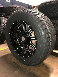 20x10 Mayhem Monstir 33 Fuel At Wheel And Tire Package 6x5.5 Toyota Tacoma