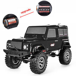 RGT 110 Scale 4wd RC Car Off Road Rock Monster Truck Car Cruisers RC390 Motor