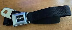 Authentic Black Ford MUSTANG Seat Belt Buckle Belt Buckle Down pants Seatbelt