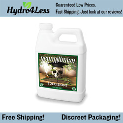 New Millenium Decision 1 Gallon Flower Enhancer Booster Nutrient Hydroponic