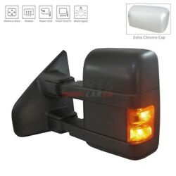 NEW POWER DOOR MIRROR HEATED LEFT SIDE FITS 2013-2014 FORD F-150 DL3Z17683AA