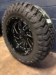 20x10 Fuel D581 Triton 35 Mt Wheel And Tire Package 6x5.5 Chevy Suburban Tahoe