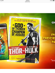 Thor Ragnarok - Movie Poster Limited Edition 30894000 + Black Panther LE Poster