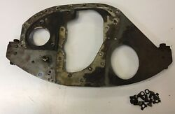 1928 Essex Super Six Front Engine To Frame Mounting Plate Between Timing And Block