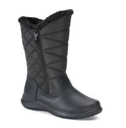 Black Women Totes Winter Boots 9 Wide