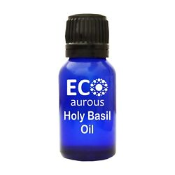 Holy Basil Oil Natural, Organic, Vegan Essential Oil By Eco Aurous