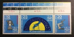 Stamp Ddr Germany.1971 Minr1714/16.zeiss Jena Mnh Ogscarce Colour Chartaa3/3