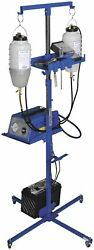 K And L Supply Portable Auxiliary Gas And Fan Caddy 35-9453