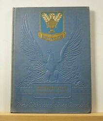 1943 Gulfport Field 594th Technical School Squadron Yearbook Army Air Force Wwii