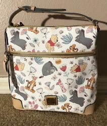 NWT Disney Dooney and Bourke Winnie the Pooh Crossbody Letter Carrier Bag Purse