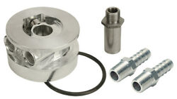 Derale 15720 Gm Thermostatic Sandwich Adapter Kit With 1/2 Npt Ports