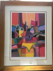 Marcel Mouly Mandole Et Compotier Limited Edition Signed/numbered Lithograph