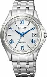 [Citizen] CITIZEN watch EXCEED Exceed Eco-drive radio clock Date in Western radi