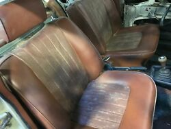 Pair Of Front Seats For Bmw Bavaria, 2002