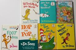 Lot of 7 books Dr. Seuss PD Eastman  Marc Brown