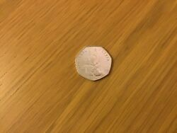 Andnbspbeatrix Potter 50p Coin Squirrel Nutkin Very Rare. Free Uk And International Post