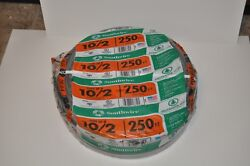 Southwire 10/2 Uf-b Underground Feeder Cable Outdoor 250 Ft Copper Conductors