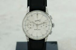 Vintage Eberhard And Co Extra-fort Ref 31003 Chronograph Mechanical Cal. 310-8